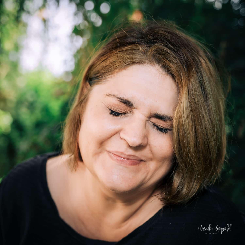 Portraitaufnahme von Ursula Leopold
